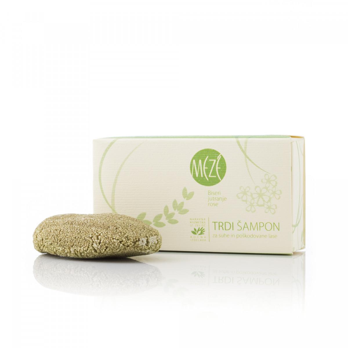 Trd šampon za suhe in poškodovane lase